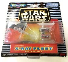 Star Wars MicroMachines 67070 X-Ray Fleet Collection V - RARE -  NEW