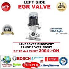 FOR LANDROVER DISCOVERY RANGE ROVER SPORT 2.7 TD 4x4 2004-> EGR VALVE LEFT SIDE