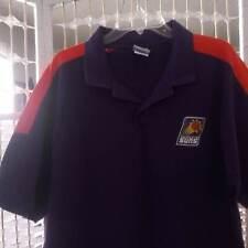 Phoenix Suns basketball Nba polo shirt, size Xl, purple w/ orange