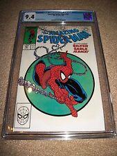 Amazing Spider-man #301 CGC 9.4 Key Classic Todd McFarlane Silver Sable Returns!