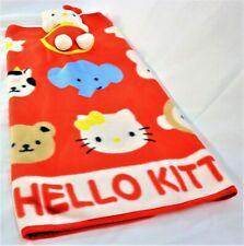 Hello Kitty Blanket With Plush Toy