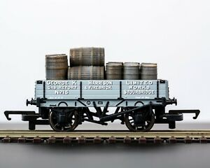 OO Gauge 1:76 Scale Barrel Load for Hornby (27mm x 56mm) Style B