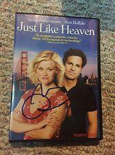 Mark Ruffalo Signed DVD Cover Just Like Heaven