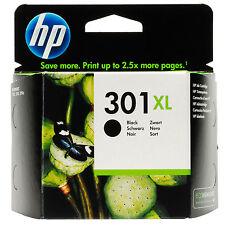 Original HP301XL Negro Cartoucho de Tinta para el Deskjet 1000 1055 2050A 3000