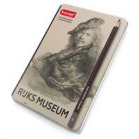 Bruynzeel - Rijks Museum Edition of 12 High Quality Graphite Pencils 2H - 9B]