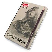 BRUYNZEEL-rijks MUSEUM EDITION di 12 MATITE grafite di alta qualità - [2h - 9b]