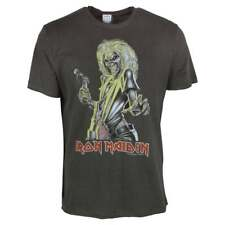 Amplified Iron Maiden Killer T-shirt Charcoal M