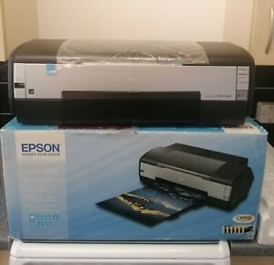 EPSON STYLUS PHOTO 1400  LARGE FORMAT  DIGITAL PHOTO  INKJET PRINTER - USED