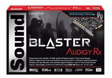 New CREATIVE Sound Blaster Audigy Rx PCI-e Sound Audio Recording Card PC Desktop