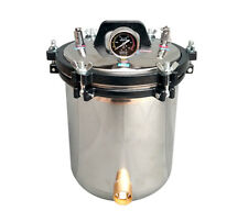 18L Portable Stainless Steel High Pressure Steam Sterilizer Autoclave 220V