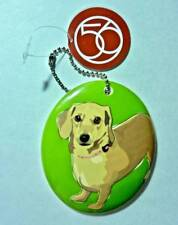 Nwt Dept 56 Go Dog Collectible Dachshund Ornament Decoration Ceramic 3.5""