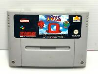 Toys Let The Toy Wars Begin - Super Nintendo SNES - Tested & Working!