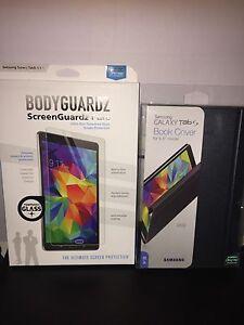 New Original SAMSUNG Galaxy Tab S 8.4 Book Cover  EF-BT700WSEGUJ+ Bodyguardz Pro
