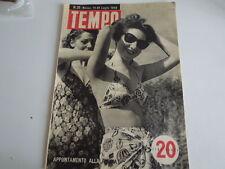 TEMPO DEL 13-20 LUGLIO 1946- GABRIELE D'ANNUNZIO- KAREL KRADOKWILL