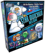 Star Munchkin Deluxe Board Card Game From Steve Jackson Games SJG 1502 Space