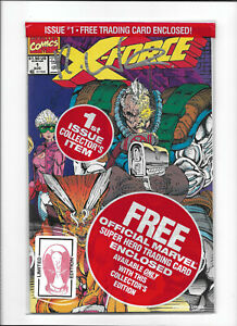 X-FORCE #1 [1991 VF+] SIGNED ROB LIEFELD!   SEALED IN BAG!