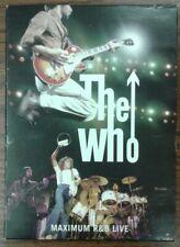 The Who Maximum R&B Live (DVD, 2009, 2-Disc Set)
