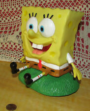 "SPONGE BOB SQUARE PANTS 2002 Talking Moving Electronic Figure 7"" Works Gemmy Ind"