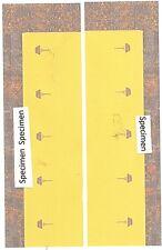 vitrage pour voitures mixtes Flêche d'or - Glazing for Golden Arrow composite