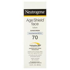 Neutrogena Age Shield Helioplex 360 Sunscreen Face Lotion, SPF 70, 88ml
