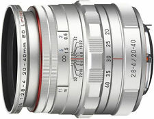 PENTAX Pentax HD DA 20-40mm F/2.8-4 WR ED DC Lens For Pentax (Limited Silver)
