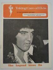 "Elvis Presley - ""Taking Care of Elvis"" - October/November 1978"