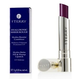 NEW By Terry Hyaluronic Sheer Rouge Hydra Balm Fill & Plump Lipstick (UV 0.1oz