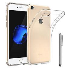 "Funda Carcasa TRANSPARENTE Gel Ultrafina para Apple iPhone 7 4.7"" + Lápiz óptico"