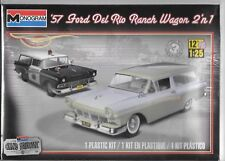 Monogram 1957  '57 Ford Del Rio Ranch Wagon 2 'N 1 Kit 1/25 4193