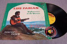 Luis Fabian El Romantico de La Cancion Spanish/Tejano LP Ramex Piranha Records