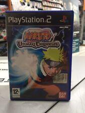 Naruto Uzumaki Chronicles Ita PS2 USATO GARANTITO