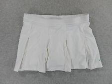 Nike Dri-Fit Tennis Golf Running Skirt Skort (Womens Medium) White