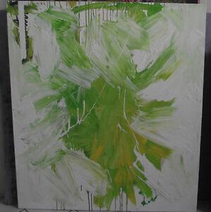 Ter Hell Hommage an de Kooning 1989 Großformat Ölgemälde Abstrakt signiert
