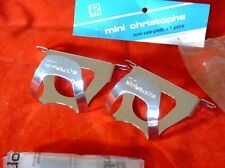 NOS CHRISTOPHE MINI CHROME STEEL MEDIUM TOE CLIPS