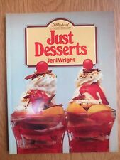 Vintage Cook Book JUST DESSERTS Pudding Recipes RETRO St Michael 1980s