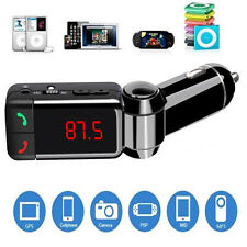Wireless Bluetooth Stereo Mp3 Player Fm Transmitter 5V/2.1A Usb Car Kit Charger