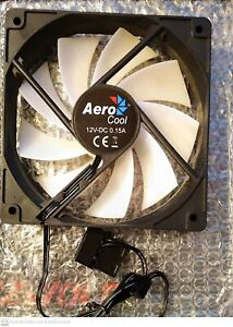 Aerocool FROST - Ventola per PC 12cm, RGB