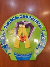 Vintage Mattel Rock Flowers TOPPED IN LACE Doll Clothes Outfit mint on card