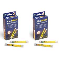 2 x voyage spot nf approuvé alco preuve alcool alcootest testeur kit twin pack