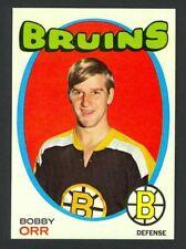 1971-72 Topps Hockey Bobby Orr #100 - Boston Bruins - Mint
