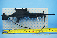 1/6 Scale Action Figur US Light Machine Gun M249 Light LMG SAW Minimi K1191 J