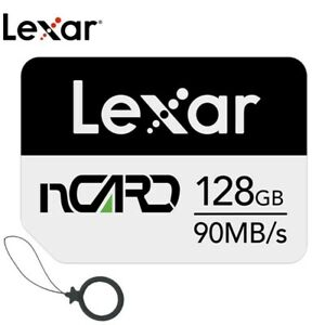 Lexar nCARD 128GB NM Nano Memory Card for Huawei Phones (LNCARD-128AMZN)