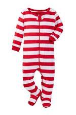 NWT Leveret Candy Cane Striped Pajama Set Sz 12-18 months unisex New