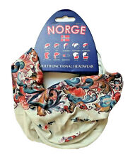 Multipurpose Headwear Face Mask Norwegian