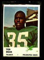 1961 FLEER #50 TED DEAN EAGLES NM+ D023107