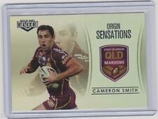 2013 NRL ESP ELITE ORIGIN SENSATION CASE PARALLEL CARD CAMERON SMITH PAUL GALLEN