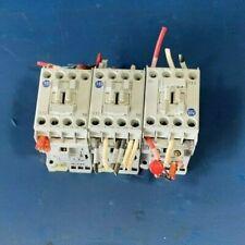 ALLEN BRADLEY IEC 100-C12*10 SER A C1210 CONTACTORS 25A 600VAC 110/120V 50/60HZ