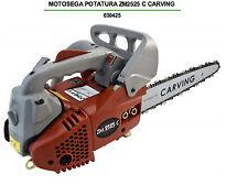 MOTOSEGA SCOPPIO DA POTA LAMA CARVING SUPER LEGGERA LAMA 25CM carburatore walbro