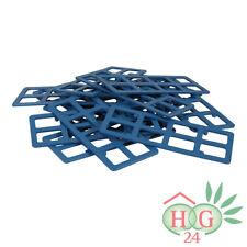 1000 Inovatec Gitterklötze 120x50x2mm blau Lastabtragung Montage Ausgleich NEU