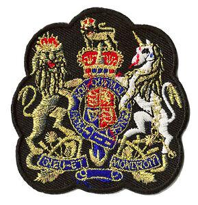 Ecusson patche Justice Anglaise UK emblème insigne badge patch brodé